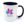 Colour mug 11oz Purple. Free layout - SM05PR