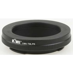 Kiwi Fotos-Mount Adapter - T-Mount-Pentax-Lens Converters & Adapters