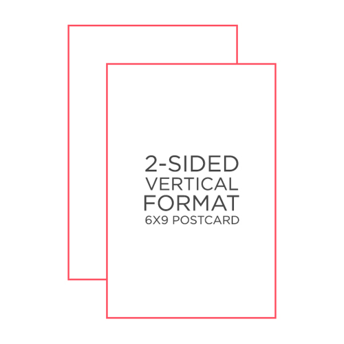 25-Pack 6x9 Postcards