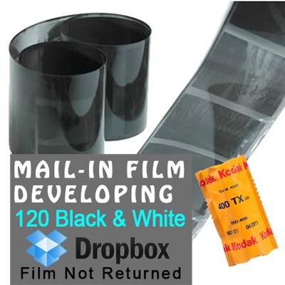Film Developing - 120 Black & White - Dropbox