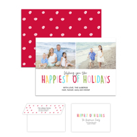 Holiday Love<br>5x7 Double Sided<br>Envelope