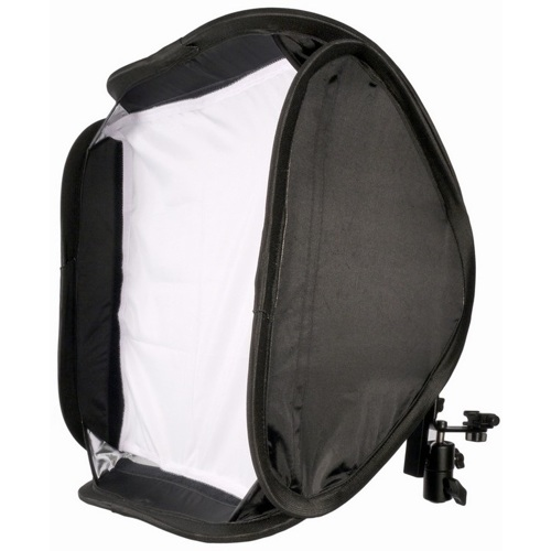 "ProMaster-Easy Fold Shoe Mount Soft Box - 24"" #9160-Light Tents, Softboxes, Reflectors and Umbrellas"