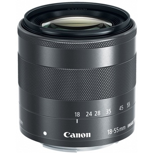 Canon-EF-M 18-55mm F3.5-5.6 IS STM-Lenses - SLR & Compact System