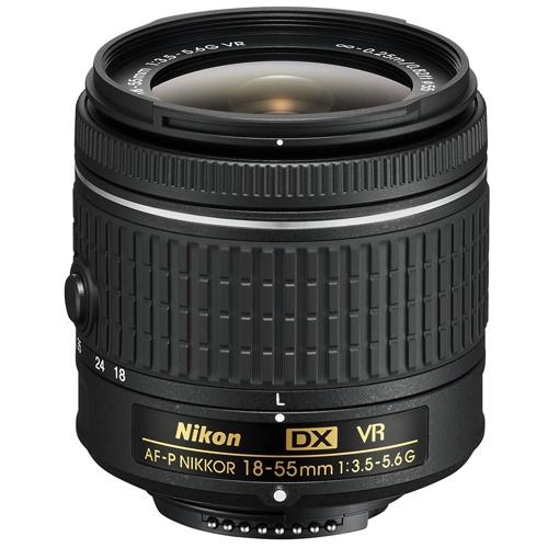 Nikon-AF-P DX NIKKOR 18-55mm F3.5-5.6G VR-Lenses - SLR & Compact System