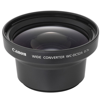 Canon WC DC52A Wide Angle Converter For PowerShot S1 IS Lens Converters