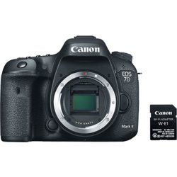 Canon-EOS 7D Mark II - Body Only with Wi-Fi Adapter Kit-Digital Cameras