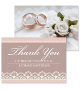 Lace C - 2 Sided Thank You