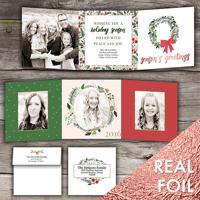 Season of Joy<br>5x5 Trifold Foil<br>Envelope