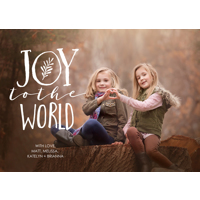 Joy World Overlay: 10pk Holiday Card