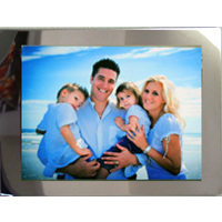 8x10 Horz Aluminum Print on 11x13 Mirror Stainless Steel