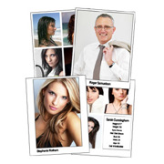 Comp Cards and Headshots