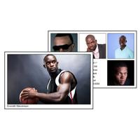 Comp Card 5x8 with 6 photos