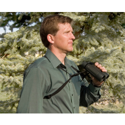 OpTech-Bino/Cam Harness - Black - Elastic-Camera Straps & Vests