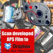 Film - Scan developed APS Film to Dropbox