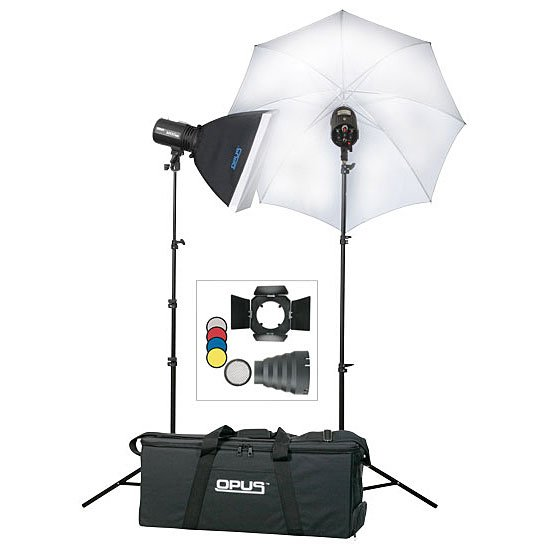 Opus-M1002 2 Light Home Studio Lighting Kit-Studio / Location Lighting  sc 1 st  Neptune Photo Inc. : home studio lighting kit - azcodes.com