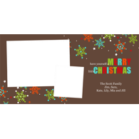 Merry Little Christmas - Two Pictures - 8x4 (H)