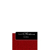 Christmas Sentiments - 4x8 (V)