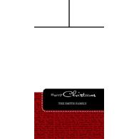 Christmas Sentiments - Multipic - 4x8 (V)