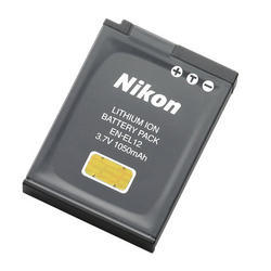 Nikon-EN-EL12 Battery Pack-Battery Packs & Adapters