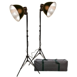 ProMaster-Basic 2-Light Studio Reflector Kit #2111-Studio Lighting Kits