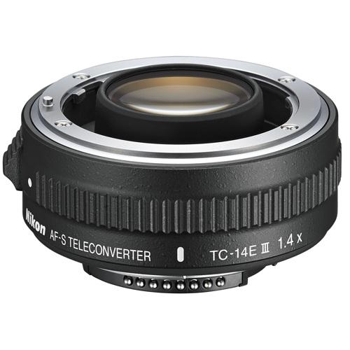 Nikon-Téléconvertisseur TC-14E III de 1.4x (AF-S)-Convertisseurs et Adaptateurs d'Objectifs