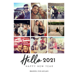5x7 Hello 2021 Multi Image