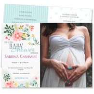 Baby Shower Card R - 2 Sided