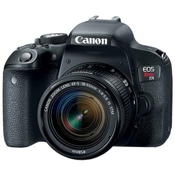 Canon-EOS Rebel T7i Digital SLR Camera with EF-S 18-55mm f4-5.6 IS STM Lens-Digital Cameras