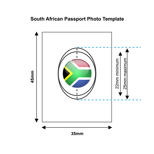 South African Passport Photo Templates