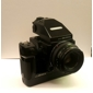Bronica-ETRSi w/75mm 2.8 AE-III Prism and power winder (Used)-Used Medium Format