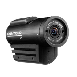 Contour-GPS Helmet Camcorder with 1080p video and rotating lens-Video Cameras