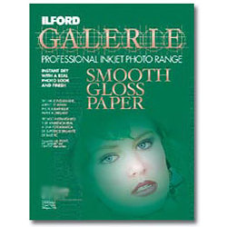 Ilford-Galerie Smooth Gloss Paper 4x6'' (100 sheets)-Papier