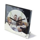 desktop mirror clock