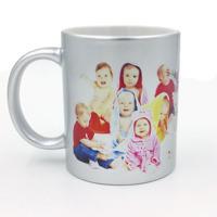 Silver mug 11oz Free layout - SM01S