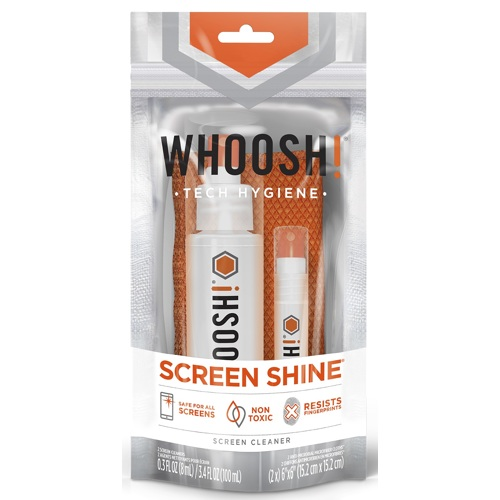 Whoosh!-Screen Shine Duo 3.4 Oz and 0.3 Oz-Smartphone and Tablet Accessories