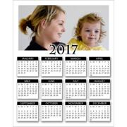 2017 - 8x10 Vertical Poster Calendar