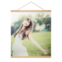 20x24 Canvas Poster with Poster Hanger