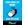 "Autocollant mural Covid-19 bleu (8,5""x11"") - Vertical"