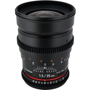 Rokinon 35mm T1.5 Full Frame Wide Angle Lens for Canon - Lenses ...