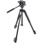 Manfrotto-190X Kit - Aluminum 3 Section Tripod with MHXPRO-2W Fluid Head #MK190X3-2W-Tripods & Monopods