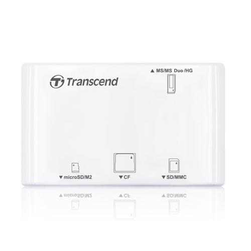 Transcend-Multi-Card Reader P8 Black TS-RDP8K-Memory Readers