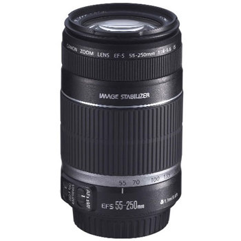 Canon-EF-S 55-250mm F/4-5.6 IS-Lenses - SLR & Compact System