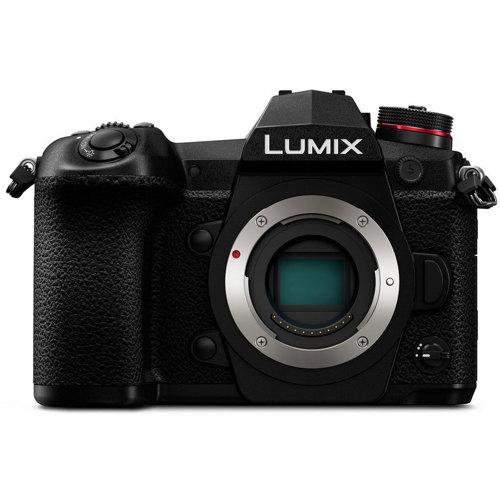 Panasonic-Lumix G9 Mirrorless Camera - Body Only - Black-Digital Cameras