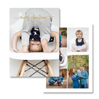 Winter Collage<br>5x7 Foil<br>Envelope