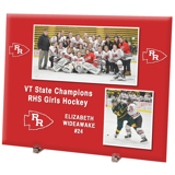8x10 Glass Photo Panel FREESTYLE (Horizontal)