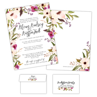 Delightful Blooms<br>5x7<br>Double Sided