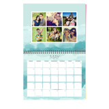 8.5 x 11 Wall Calendar, Brushed (2019)
