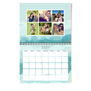 Brushed Calendar - 2018