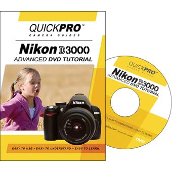 Quickpro training dvd: nikon d3000 slr digital camera 1468 b&h.