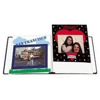 Pioneer Rw85 Deluxe E Z Load Scrapbook Refill Pages 8 X 11 White